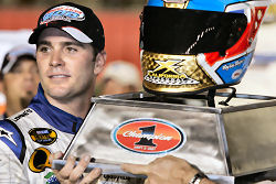 National Association  Stock  Auto Racing  on Jimmie Johnson Wins  Takes Top Spot In Chase